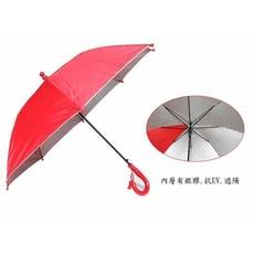 【自動兒童雨傘】可愛動物 19英吋安全雨傘 迷你傘-附哨子