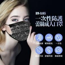 【預購】RM-A105一次性防護蕾絲成人口罩 50入/包