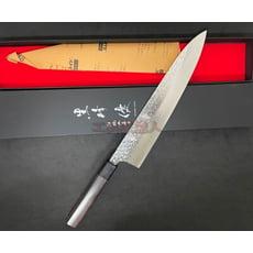 越前 黒崎優 270mm 牛刀 日本製 🇯🇵  R2 粉末鋼 料理刀 主廚刀 筋引 菜刀 主廚刀