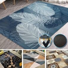 【特大賣場】水晶絨防滑加大特大地墊地毯
