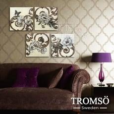 TROMSO時尚無框畫-W164皇家花卉/ 花紋 圖騰