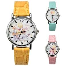 disney迪士尼_小熊維尼甜美皮帶手錶