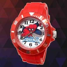 【漫威】超能力蜘蛛人運動彩帶錶(紅)