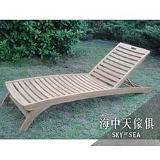 {{ 海中天休閒傢俱廣場 }} C-52 戶外休閒桌椅#313T 柚木躺椅