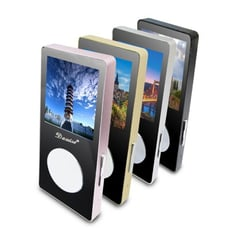 【B60A】Dawise魔鏡款彩色螢幕MP4隨身聽(內建16GB記憶體)(送5大好禮)
