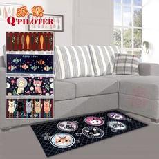派樂 可愛造型加長地墊  客廳廚房地墊 室內地墊 止滑地墊