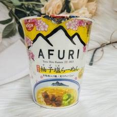 ☆潼漾小舖☆ 2021 日清 阿夫利 AFURI 柚子鹽拉麵 柚子鹽杯麵 93g