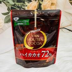 ☆潼漾小舖☆ 日本 片岡 VAN HOUTEN 沖調可可 cocoa 可可72% 190g