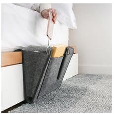 【早道迷居家】臥室床邊收納袋 床頭櫃 邊桌 收納 沙發 儲藏 客廳
