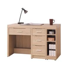 橡木伸縮書桌