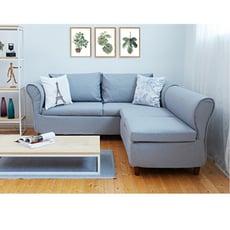 【HM居家館】樂活多變L型沙發椅/沙發床/貴妃椅/可左右調整(兩色選擇)