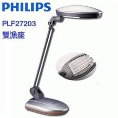 PHILIPS 飛利浦雙漁座防眩光觸控式護眼檯燈 PLF27203