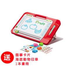 【孩子國】多功能支架式彩色磁性畫板/ 寫字板/ 塗鴉板