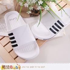 休閒拖鞋 軟Q止滑室外拖鞋 魔法Baby sd0116