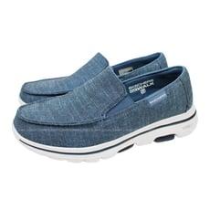 (B3) SKECHERS GO WALK 5 男鞋 休閒 健走 216026NVY 懶人鞋 帆船鞋