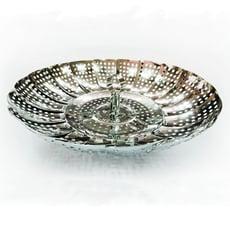 蒸寶 日本不鏽鋼萬用蒸煮神器  蒸鍋 電鍋 氣炸鍋 配件加高瀝油烤盤