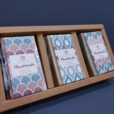 純天然手工皂禮盒-沐浴皂 (3入皂)