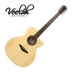 【敦煌樂器】VEELAH V1-GAC 面單板民謠木吉他