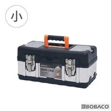 【加厚鋼手提工具箱-小】不銹鋼工具盒 手提工具箱 收納箱 收納盒 電工專用鐵工具箱