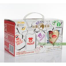 台農乳品 綜合保久乳禮盒(8瓶/盒)