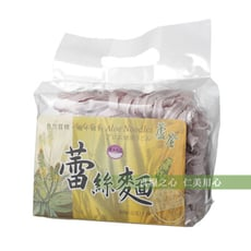村家味 紫地瓜蘆薈蕾絲麵(600g/袋)