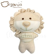 有機棉嬰兒玩具-啾咪安撫娃娃(小獅)