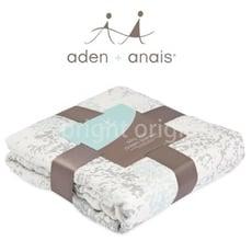 美國Aden+Anais 竹纖維四層厚毯 飄綠春意9322