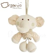 有機棉嬰兒玩具-搖籃音樂鈴(小象)