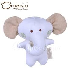 有機棉嬰兒玩具-啾咪安撫娃娃(小象)