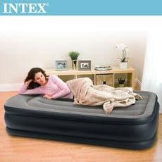 【INTEX】豪華三層圍邊單人加大充氣床-寬99cm (64131ED)