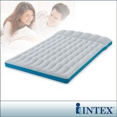 瘋殺限時特價↘【INTEX】雙人野營充氣床墊(車中床)-寬127cm (灰藍色)(67999)