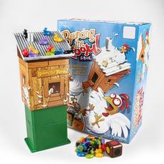 【GCT玩具嚴選】母雞彈跳屋桌遊 彈跳 桌遊 派對 母雞桌遊 派對遊戲