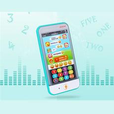 【GCT玩具嚴選】匯樂寶寶智能手機 寶寶早教遊戲好朋友
