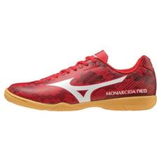 MIZUNO 寬楦 室內足球鞋 五人制平底鞋 MONARCIDA NEO 紅 Q1GA201390