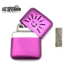 小太陽造型白金懷爐套組(紫) (含白金觸媒x1) 隨身暖爐 暖蛋 煤油暖爐 可連續使用長達6小時