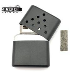 10孔金字塔造型白金懷爐套組(黑) (含白金觸媒x1) 隨身暖爐 暖蛋 煤油暖爐 可連續使用長達6小