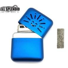 小太陽造型白金懷爐套組(藍) (含白金觸媒x1) 隨身暖爐 暖蛋 煤油暖爐 可連續使用長達6小時