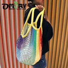 【OMORY】編織網狀購物袋-多款任選