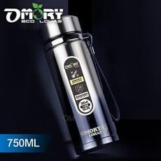 【OMORY】#304漸層不鏽鋼保冷/保溫瓶-750ML(漸層藍)
