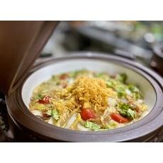 武暖 蘭陽什錦菜(蛋奶素)/宜蘭素西魯肉/年菜必備/家常菜/傳統美食/冷凍包裝/冷凍素食料理/素食冷