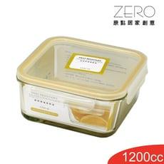 SYG台玻耐熱方形玻璃保鮮盒1200ml