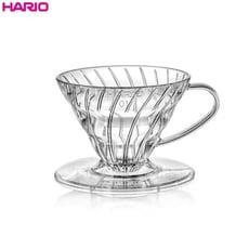 日本HARIO V60透明樹脂02濾杯 1~4人用