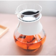 HARIO 雙色兩用濾泡茶壺 500ml 耐熱玻璃 可當醒酒器