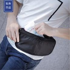 防盜護照包側背包貼身包包小包包證件收納包--夏日時光