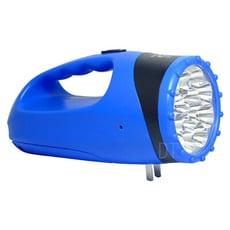 晶冠 充電式6W亮度探照燈+18LED檯燈 JG-FR680