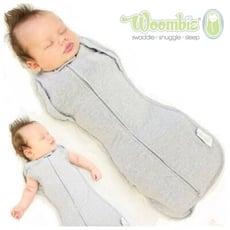 【美國Woombie】 2合1嬰兒包巾