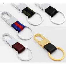 汽車配件皮革鑰匙圈/5款可選擇-KLAL006