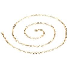 金色O字鋼鏈-DKS062