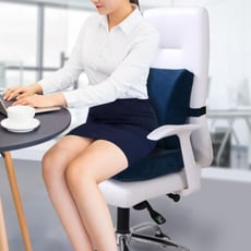 坐墊靠墊一體辦公室孕婦靠護腰套裝