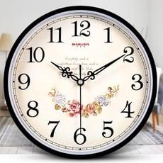 掛鐘巴科達鐘表掛鐘客廳現代簡約個性時鐘家用靜音創意時尚掛表石英鐘LX